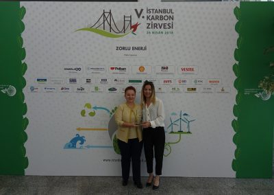 V. Istanbul Carbon Summit (108 Plaket)