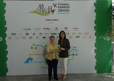 V. Istanbul Carbon Summit (114 Plaket)