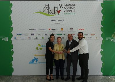 V. Istanbul Carbon Summit (115 Plaket)