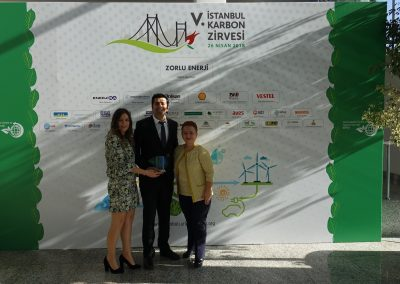 V. Istanbul Carbon Summit (120 Plaket)