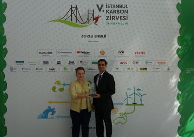 V. Istanbul Carbon Summit (121 Plaket)