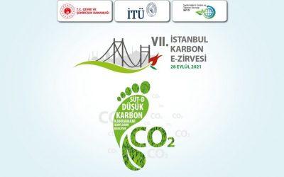 7'nci İstanbul Karbon E-Zirvesi gerçekleştirildi